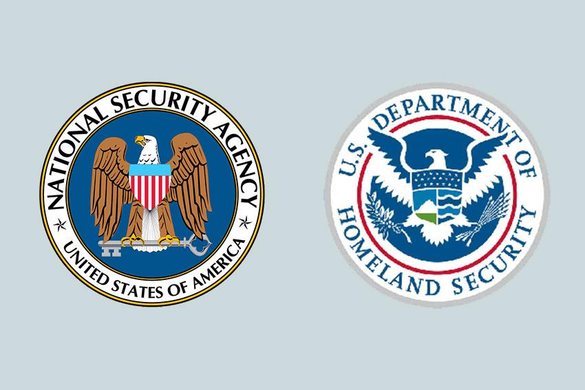 NSA DHS logos